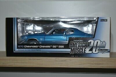 Autoworld American Muscle 1:18 Chevrolet Chevelle SS 396 1970 AMM 956