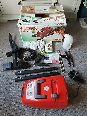 Polti Vaporetto 2400 Steam Cleaner With Accessories In Excellent Condition