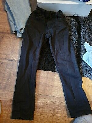 boys black next jeans age 6