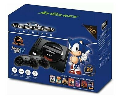 Sega Genesis Flashback HD 2017 Console with 85 Games Included - NEW (Unopened)