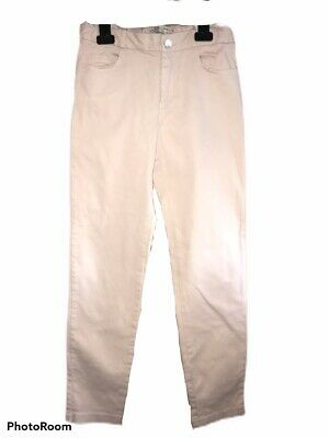 Zara Girls Soft Collection Jeans Trousers Blush Pink Age 11-12 Years