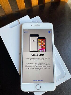 Apple iPhone 8 Plus - 256GB - Silver (EE) A1897 (GSM) Immaculate condition