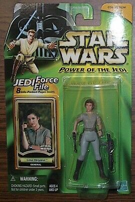 Star Wars Potj Power Of The Jedi Leia Organa General Vintage Saga Legacy Rotj