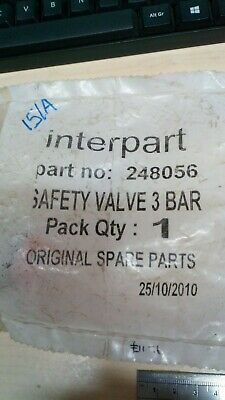 Interpart Spare Safety Valve 3 Bar Part Number 248056    (151A)