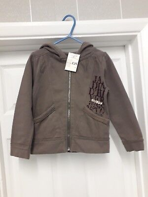Girls Jardin D Hiver Hooded zipped Cardigan New Age 4yrs