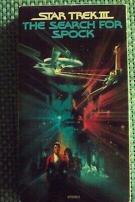 THE SEARCH FOR SPOCK Star Trek III VHS                                     12138