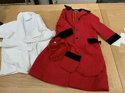 Children's Clothing bundle - 2 - 3 Years Girls Coat And Dressing Gown
