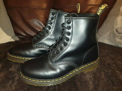Dr Martens 1460 Leather Ankle Boots - Size UK 9 Black