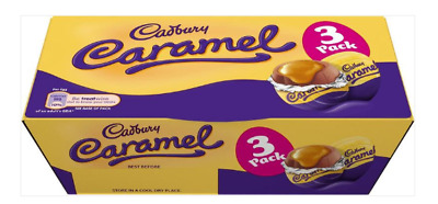 3 x Cadbury Caramel Egg - 3 Pack 117g Free Tracked Delivery