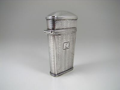 Rare 1836 William IV English Sterling Silver Case / Etui by Francis Clark