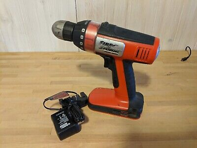 "Black & Decker BD12PS Cordless Drill 3/8"" Chuck 12v, with charger no battery"