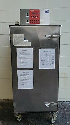Cookshack SM260 Commercial BBQ Meat Smart Smoker With RIB RACKS Accessories