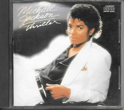 Michael Jackson-Thriller Rare Canada First Press Cd Made In Japan