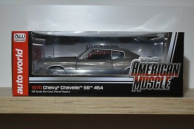 Autoworld American Muscle 1:18 Chevrolet Chevelle SS 454 1970 AMM 986