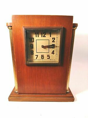 "Rare Vintage Mantel Board Clock Soviet Striking Clock ""Vladimir"" Working Clock"