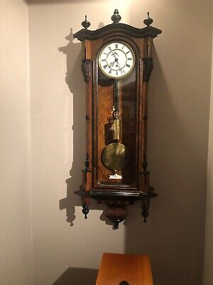 Antique Single Weight Vienna Wall Clock