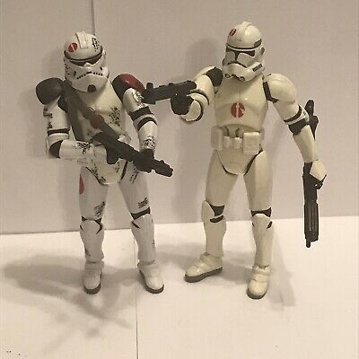 Star Wars Commander Neyo and Target Exclusive Clone Trooper Action Figures