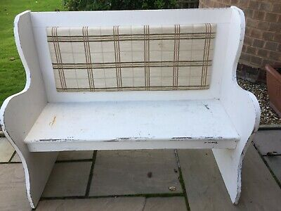 Country Style Church Pew Wooden Bench - Shabby Chic Project?