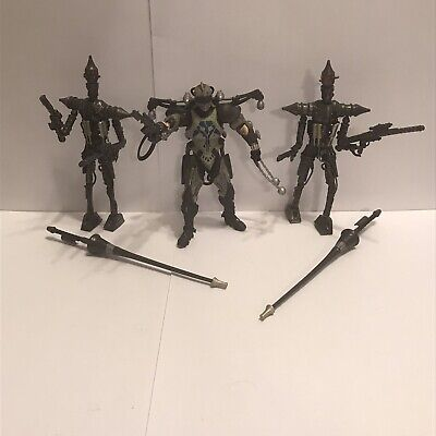Star Wars Clone Wars Durge and 2 IG-Lancer Action Figures by Hasbro (2003/2008)