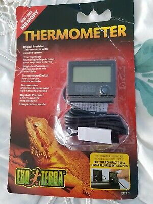 Exo Terra Reptile Digital Thermometer New In Box