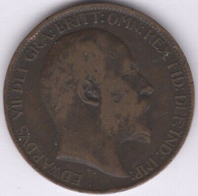 1902 Edward VII Halfpenny   British Coins   Pennies2Pounds
