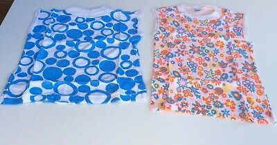 Bundle 2 Items Authentic Vintage Retro 60's/70's Age 6yrs Sleeveless Tops