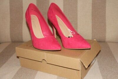 Ladies shoes, New Look Pink Stilettos, size 8 wide, new