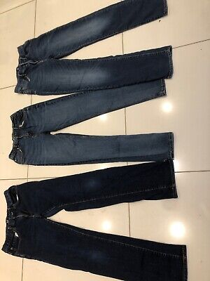 Bundle Of 3 Boys Jeans Age 13 Gap And sainsburys
