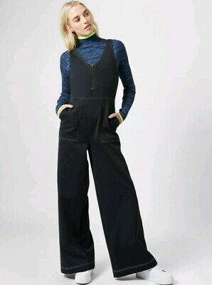Sweaty Betty Chrissy Retro Black All In One Jumpsuit Size S