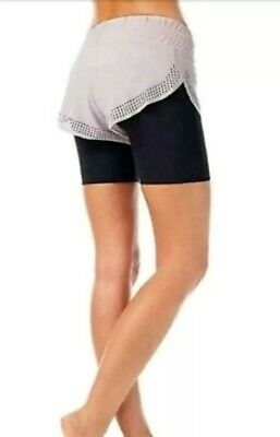 Sweaty Betty Aerial 2 In 1 Dance Shorts Size XS