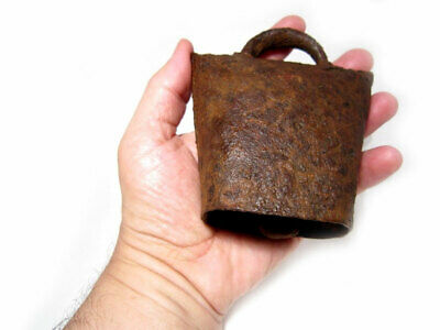 Choice Medieval Period Huge Iron Bell, Well Preserved+++