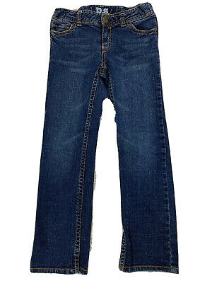 D.Blue Ladies Girls Denim Look Stretch Elasticated waist Slim Fit Jegging14 size