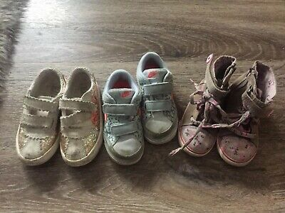 Baby Girls Shoes Bundle 7.5 Infant