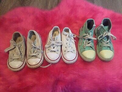Converse Girls Bundle Shoes Size 7 Infant
