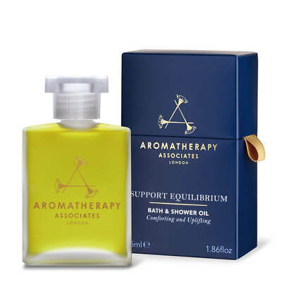 NEW Aromatherapy Associates Support Equilibrium Bath & Shower Oil 55ml