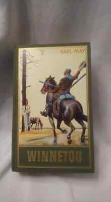 Altes Antikes Buch Karl May Winnetou Mey Indianer Lesespaß