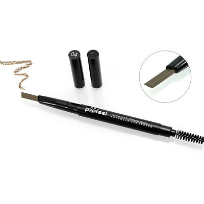 2in1 Rotating Eyebrow Pencil Double Tips Waterproof Long Lasting 24 Hours C3V4