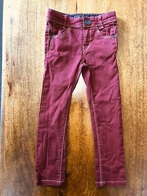New Without Tags RRP £51- Designer Catimini Boys Trousers / Jeans -Size: 4 Years
