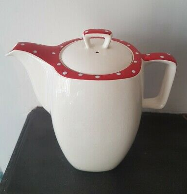 Midwinter Red Domino Stylecraft Coffee Pot