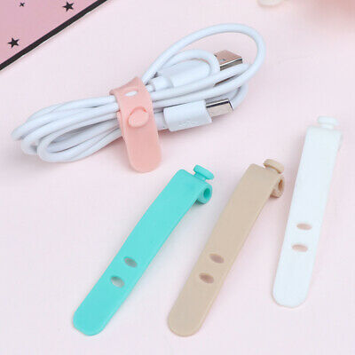 4pcs Travel Accessories Cable Winder Earphone Protector Data line protector _eo
