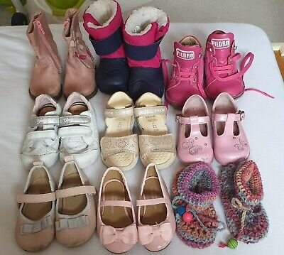Girls shoes Size 3, 3.5, 4 Next Geox Star Rite leather