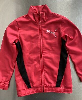 Girls Puma Tracksuit Top & Trousers Age 5/6