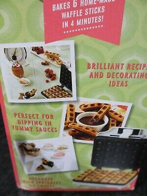 waffle stick maker, never used , boxed by sweet treats