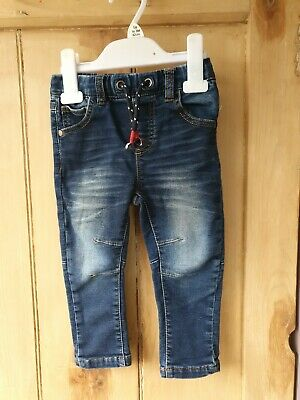 Next Baby Boys Skinny Jeans 12-18 Months Excellent condition