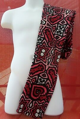 LulaRoe L/XL leggings hearts black red pink white I combine shipping