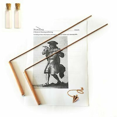 Dowsing Rod Copper -Solid Material 99% - Ghost Hunting, Divining Water, Gold,...