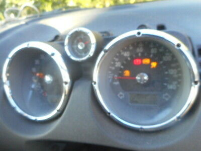 Vw Polo 6N2 GTi Instrument Cluster.99k miles. Clocks with Chrome Bezels 1999-01