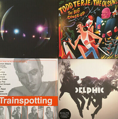 Job Lot Vinyl Records Indie Rock Techno All Listed Nirvana Four Tet Bloc Party