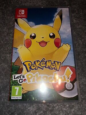 Nintendo Switch - Pokemon Lets Go Pikachu Game