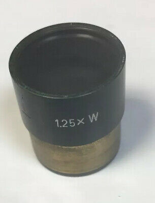 Vintage Leitz Wetzlar Microscope 1.25x W  170/223 Intermediate Relay Lens As Is